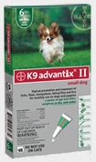 Advantix II Dogs 1-10 lbs Green 6 months