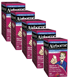 Airborne Chewables Berry Flavor Value Pack