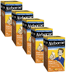 Airborne Chewables Citrus Flavor Value Pack