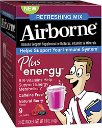 Airborne Plus energy Mix Natural Berry 9s