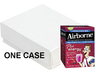 Airborne Plus energy Mix Natural Berry CASE