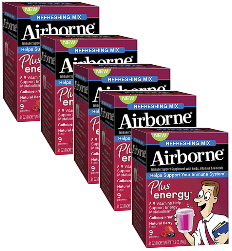 Airborne Plus energy Mix Natural Berry Value Pack