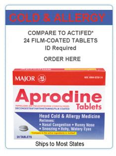 Aprodine Tablets 24's