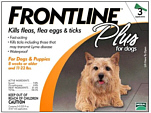 Frontline Plus for Dogs up to 22 lbs