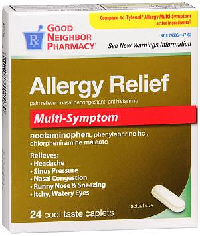 GNP Allergy Relief Caplets 24's