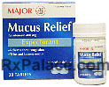 Mucus Relief (Guaifenesin 400mg) Tablets