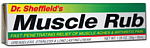 Dr Scheffield's Muscle Rub Cream 35 grams