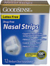GS Nasal Dilator Strips Small/Med Clear 12s