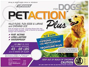 Pet Action Plus Large Dogs 3 months supply