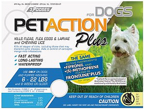 Pet Action Plus Small Dogs 3 months supply