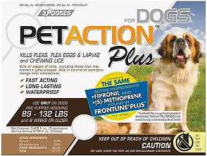 Pet Action Plus Extra Large Dogs 3 months supply