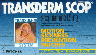 Transderm Scop patches